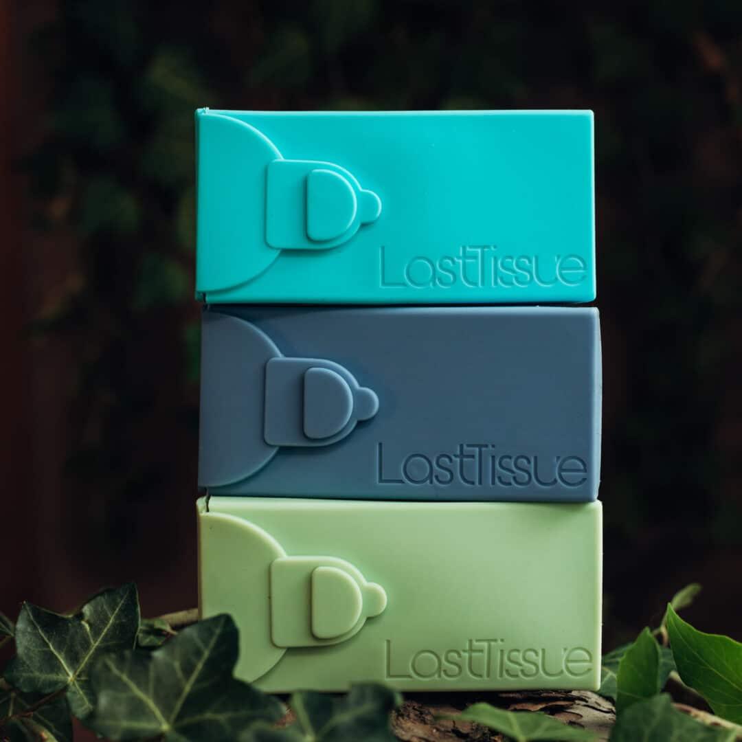 Nachhaltige-Taschentuecher zum Wiederverwenden in 3 Farben